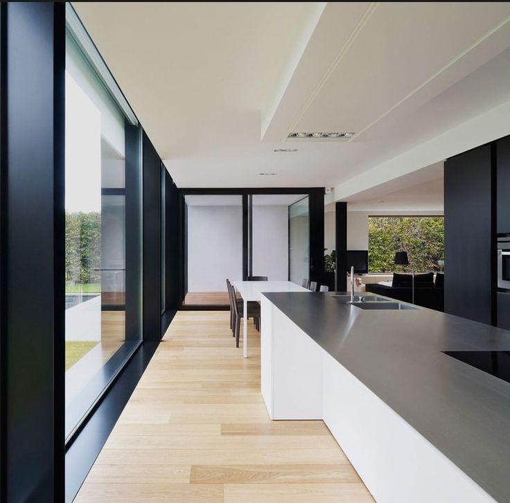 Voorbeelden for Maison moderne menuiserie blanche